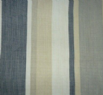 "Cushion Cover in Laura Ashley Awning Stripe Charcoal Grey 14"" 16"" 18"" 20"""